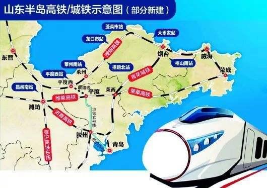 潍烟高铁2019年力争开工, 潍莱高铁争取2020年通车