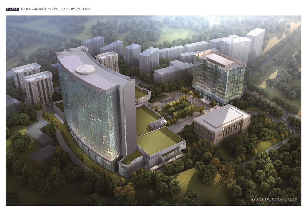 烟台君悦大酒店-超五星级-规划图-高清